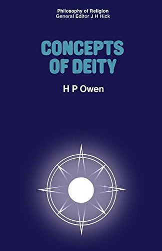 Concepts of Deity (Philosophy of Religion Series)
