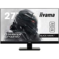 "Iiyama GMaster Black Hawk G2730HSUB1 Moniteur Gaming 27"" Ful HD 1 ms Freesync 75 Hz VGA/DP/HDMI Hub USB Multimédia Châssis Slim Noir"