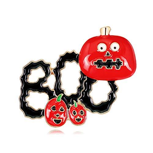 (Skyeye Halloween Brosche Rote Tomate Brosche Party Abendkleid Kostüm Legierung Brosche)