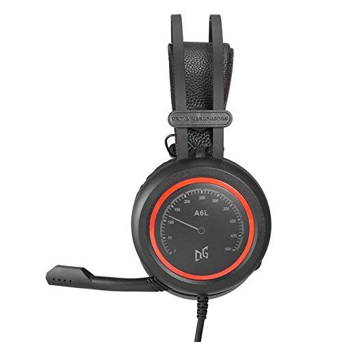 Neue Headset Stereo Surround Kopfhörer Hochwertige Kabelspiel Kopfhörer mit Mikrofon Virtual Surround Stereo Kabel-Kopfhörer