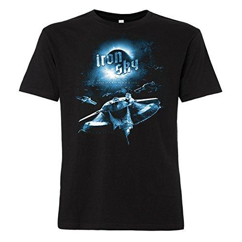 ShirtWorld - Iron Sky - T-Shirt Motiv Flugscheibe 3XL