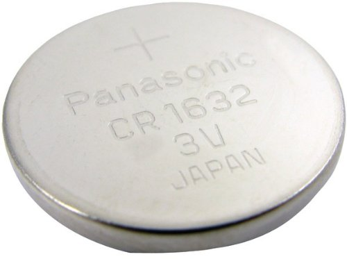 CR1632 Lithium Coin Battery Case Pack 6