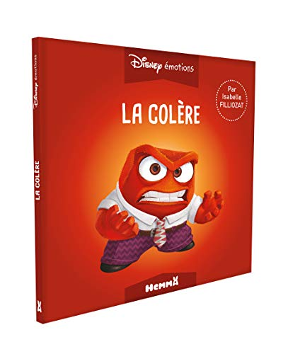 Disney émotions - Vice Versa - La Colère par  Isabelle FILLIOZAT