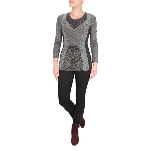 French Connection -  Maglia a manica lunga  - Donna Black