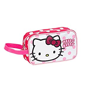 KARACTERMANIA, HELLO KITTY Aseo Teen Dots – Neceser para niñas