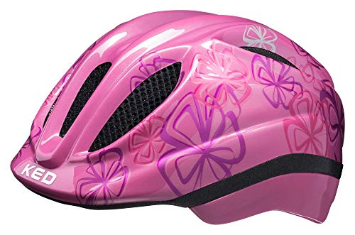 KED Meggy Trend Helmet Kids pink Flower Kopfumfang S/M | 49-55cm 2019 Fahrradhelm