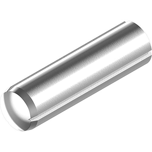 1000 Stück Zylinderkerbstifte DIN 1473/ISO 8740-Edelstahl A1 m. Fase 2x 18