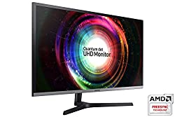 Samsung LU32H850UMUXEN 28-Inch UHD 4K Gaming Monitor - Black/Silver