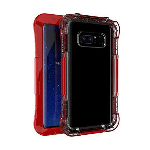 All Inclusive PC Hülle Schutzhülle für Samsung Note8 / s8 / s8 Plus Anti-Fall-Schutzhülle für Mobiltelefone Wasserdicht - Rot Samsung Stand-notebook-pc