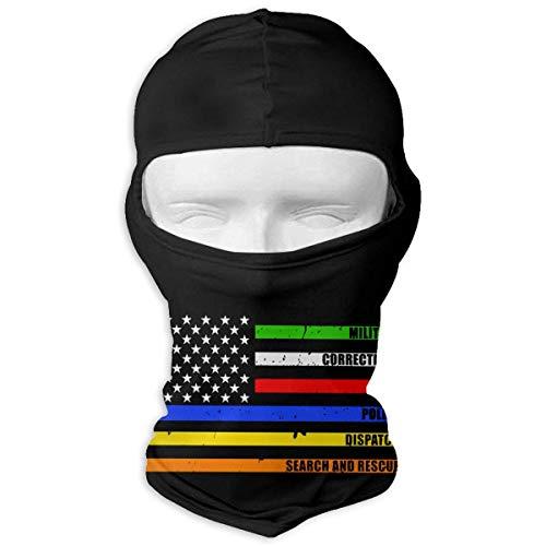 Jxrodekz Police Dispatch Brandschutzkorrekturen Militärische Gesichtsmaske Winddichte Balaclava-Maske