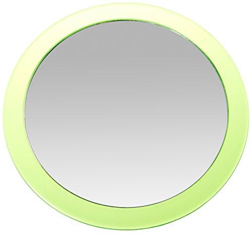 MSV MS1306/141405 - Espejo de Aumento con Ventosa Metal, 15 x 15 x 3 cm