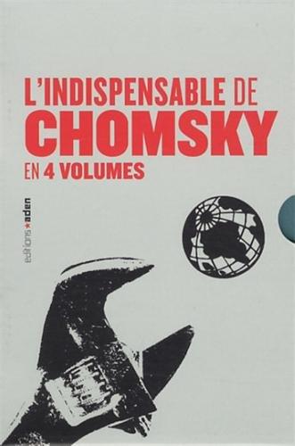 Coffret L'indispensable de Chomsky : Sur la nature humaine ; Comprendre le pouvoir tome 1, 2 et 3