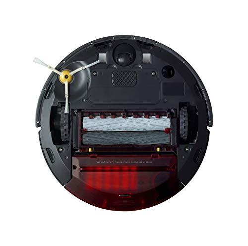 41wMML9wTWL [Bon Plan ] iRobot Roomba 960, aspirateur robot avec forte puissance d'aspiration, 2 brosses anti-emmêlement, idéal pour animaux, capteurs de poussière, parfait sur tapis et sols, connecté, programmable via app