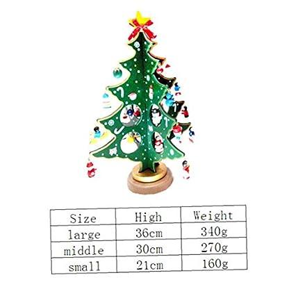 Kacniohen-Desktop-Holz-Weihnachtsbaum-Knstliche-Mini-Weihnachtsbaum-Tabletop-Bume-Ornamente-Fr-Party-Hauptdekoration-Grn-Gre-L