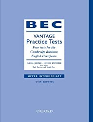 BEC Practice Tests Vantage: Book With Answers: Four Tests for the Cambridge Business English Certificate