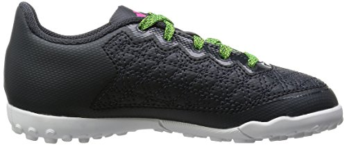 adidas Ace 16.3 Cage, Scarpe da Calcio Bambino Grigio (Dark Grey/Grey/Solar Green)