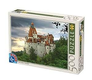 D-Toys - ROMANIA Jigsaw Puzzle 500 - Bran Castle, Romania