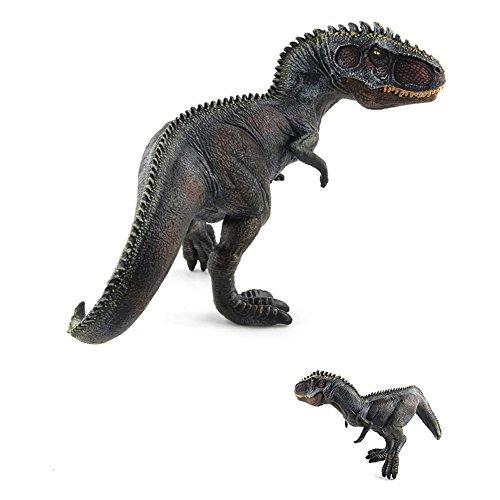 Faironly Creative Simulate Action Figur Modell Dinosaurier Spielzeug für Dekoration Weihnachten Bildung Black Giganotosaurus