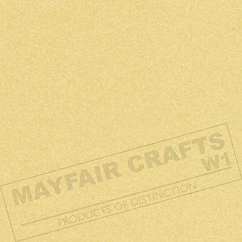 Mayfair Crafts Carta Perlescente A4doppio lato 100g/mq, confezione da 12fogli A4 Ivory - Ivory Pearl Carta