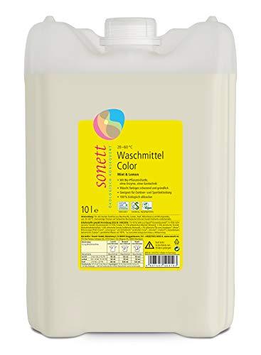 Waschmittel Color: Duft von Bio-Minzöl und Bio-Lemongrassöl, 100{aee0b2d93b0d4ffc322d10cec4c0a21dde69e2201c5e33afadac70826379c447} biologisch abbaubar