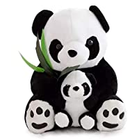 BARGAINS-GALORE LARGE 35CM PANDA TEDDY BEAR CUDDLY PLUSH STUFFED ANIMAL SOFT TOY KIDS GIFT XMAS