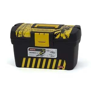 Curver 194288 Bricolage Boîte à Outils Herobox Energetic 16 IML Pro-Séries Noir / Jaune