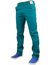 Nouveau Jack Designer Mens Sud Stretch Slim fit Chino Straight Leg pantalons Jeans/Pantalons