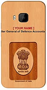 "Aakrti Mobile Back cover with your Dept: Controller General of Defence Accounts (CGDA).Your ID with Government Logo With "" Your Name "" Printed on your Smart Phone : Samsung Galaxy S-4 Mini / 9190"