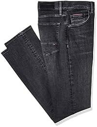 9666d6400 Tommy Hilfiger Men's Slim Bleecker Pstr Moore Black Jeans