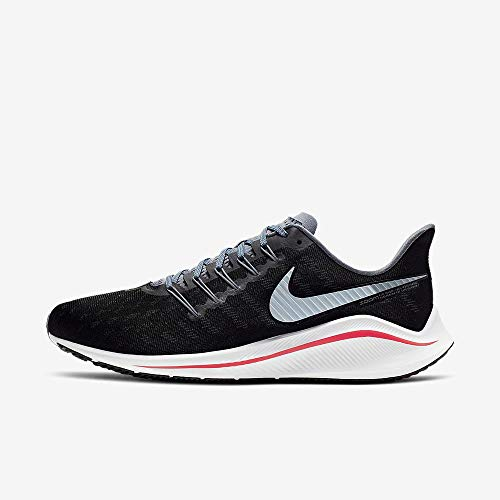 Nike Air Zoom Vomero 14, Scarpe da Atletica Leggera Uomo, Multicolore (Black/Bright Crimson/Armory Blue 000), 45 EU