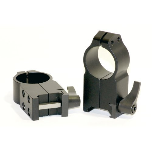 Warne Scope Mounts Low Matte Quick Detach Rings (VE = 1) by Warne Scope Mounts -