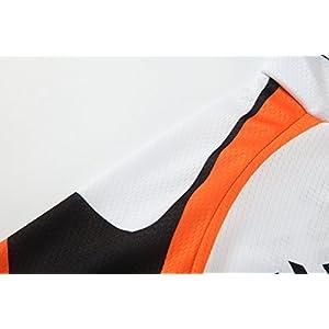 [traje tamaño:M] al libre Ropa ciclistas Maillot Acolchado Respirable ciclo Trajes aire secado culotte manga rápido cortas Mangas bicicleta Ciclismo Mecha cómoda jerseys Jersey (EU)M=(CNXXL