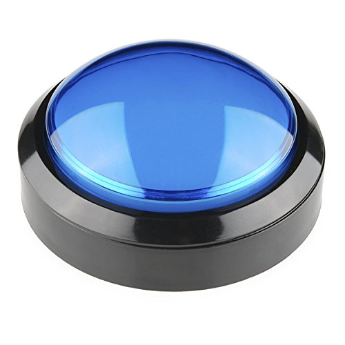 Push-button-modul (Big Dome Push Button - Blue)