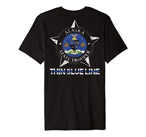 Alaska State Trooper Shirt Alaska Highway Patrol Shirt - Alaska-kinder-t-shirt