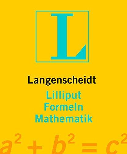 Langenscheidt Lilliput Formeln Mathematik (Langenscheidt Lilliput-Wörterbücher)