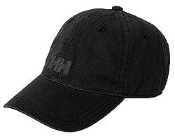 Helly Hansen LOGO CAP - Unisex Kappe für jede Gelegenheit - Einfarbige Cappy mit Logoaufdruck - Snapback Schirmmütze individuell größenverstellbar