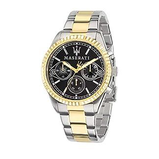 Reloj para Hombre, Colección Competizione, Movimiento de Cuarzo, multifunzione, en Acero y PVD Oro Amarillo – R8853100016