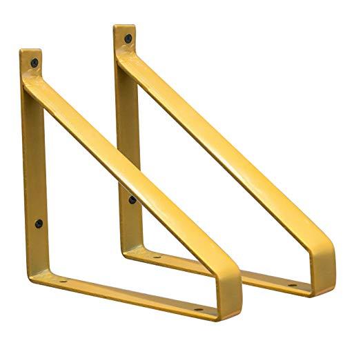 MMZZ Soporte de Estante de Metal, Soporte de ángulo Recto en Forma...