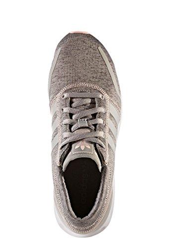 adidas Los Angeles, Sneaker Bas du Cou Femme Gris