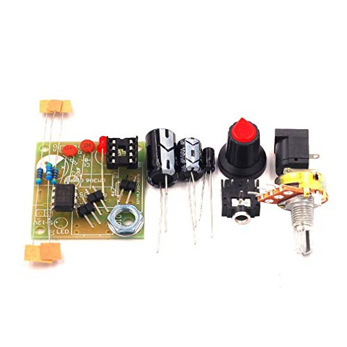 GreatWall LM386 Super Mini 3V-12V Power Audio Verstärkerplatine Anzug Electronic DIY Kit blau -