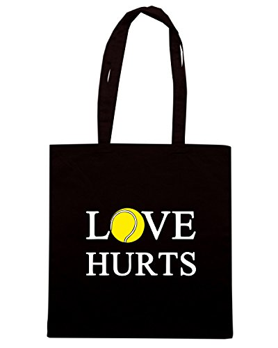T-Shirtshock - Borsa Shopping TLOVE0118 love hurts Nero