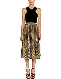 09195eb3f0f9 Amazon.fr   Or - Jupes   Femme   Vêtements