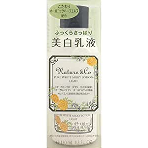 KOSE Nature & CO Pure White Milky Lotion 130ml