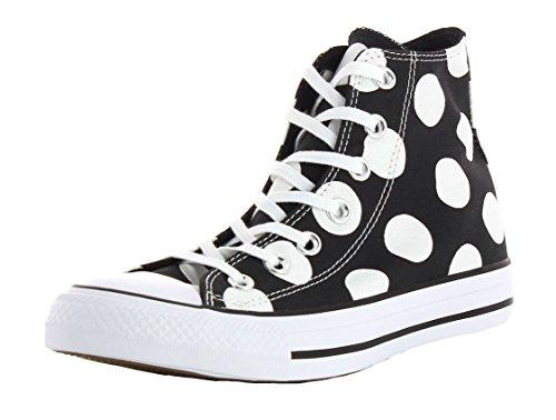 Converse Ctas Hi, Sneakers Femme Noir (Black/white/white)