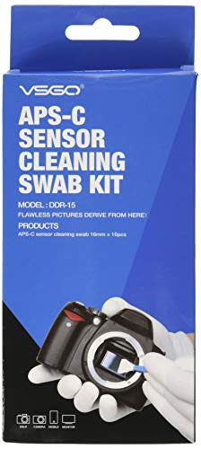 Cmos-sensor Typ (Reinigungsschwaber, Typ 2 (VSOG DDR15) für APSC Sensor (CCD/CMOS): Paket enthält 10 x 16 mm Reinigungstupfer)