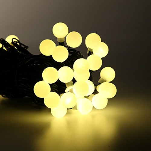 5m-outdoor-low-voltage-connectable-led-berry-fairy-lights-on-dark-green-cable-by-festive-lights-warm