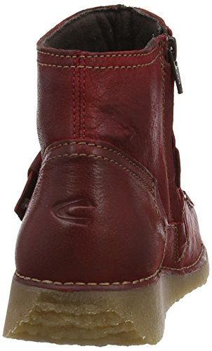 Camel Active Smoothie Damen Stiefel Rot (Dark Red Leather)