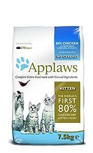 Applaws Katzentrockenfutter Kitten, 1er Pack (1 x 7.5 kg Beutel)