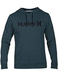 Hurley - Sudadera con capucha para hombre, Verde, talla L