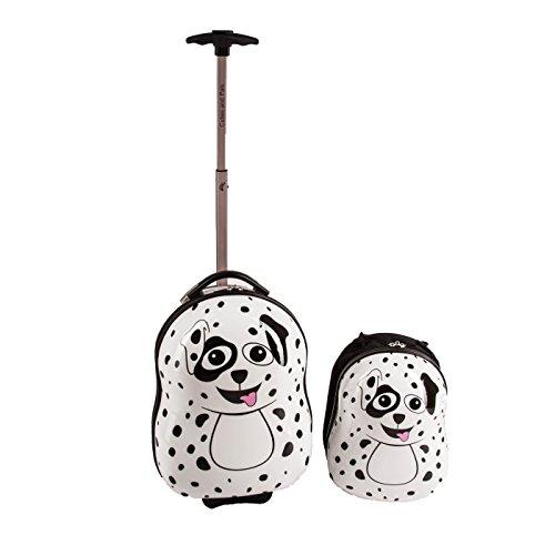 Cuties and Pals maletas infantiles, mochilas infantiles, ninos, viajar, trolley (maletas y mochias, dalmata)
